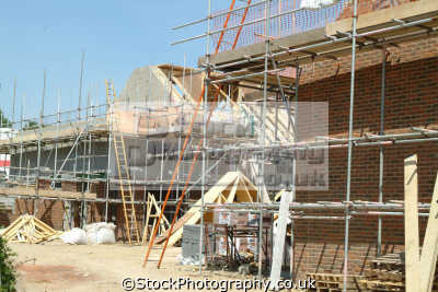 construction site scaffolding ladders building industry industrial uk business commerce buckinghamshire bucks england english angleterre inghilterra inglaterra united kingdom british