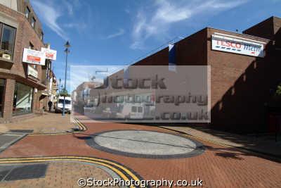 maidenhead street tesco metro south east towns southeast england english uk berkshire angleterre inghilterra inglaterra united kingdom british