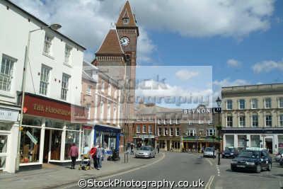 newbury market place south east towns southeast england english uk berkshire angleterre inghilterra inglaterra united kingdom british