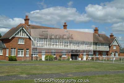 newbury racecourse jockey quarters unusual british buildings strange wierd uk berkshire england english angleterre inghilterra inglaterra united kingdom