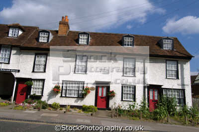 chipping ongar terraced houses uk british housing homes dwellings abode architecture architectural buildings villages essex england english angleterre inghilterra inglaterra united kingdom