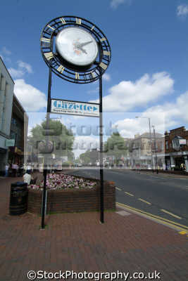 brentwood south east towns southeast england english uk clock essex angleterre inghilterra inglaterra united kingdom british