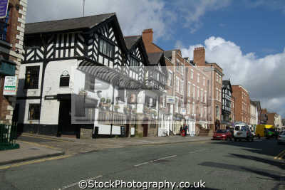 chester lower bridge street north west northwest england english uk cestrian cheshire angleterre inghilterra inglaterra united kingdom british