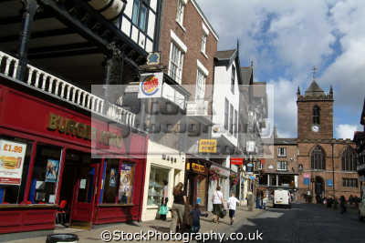chester upper bridge street north west northwest england english uk cestrian cheshire angleterre inghilterra inglaterra united kingdom british