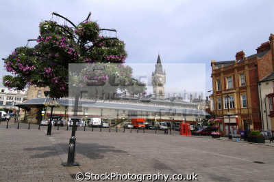 darlington town square market uk markets traders commercial buildings retailers british architecture architectural durham england english angleterre inghilterra inglaterra united kingdom