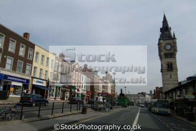 darlington town centre teeside north east england northeast english uk durham angleterre inghilterra inglaterra united kingdom british