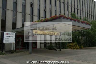 darlington borough council town hall teeside north east england northeast english uk durham angleterre inghilterra inglaterra united kingdom british
