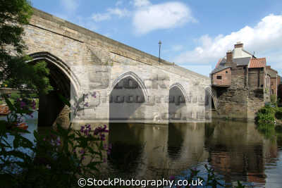 durham elvet bridge river wear uk bridges rivers waterways countryside rural environmental england english angleterre inghilterra inglaterra united kingdom british
