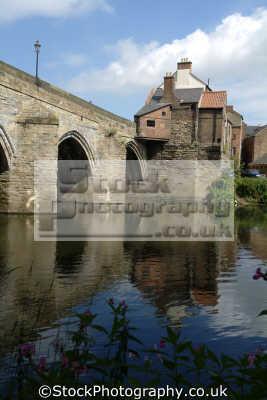durham elvet bridge river wear uk bridges rivers waterways countryside rural environmental england english angleterre inghilterra inglaterra united kingdom british