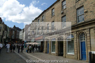 durham looking saddler street north east england northeast english uk angleterre inghilterra inglaterra united kingdom british