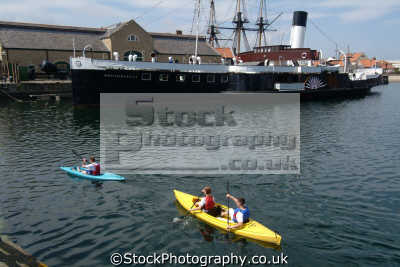 hartlepool hms trimcomalee jackson dock boats marine misc. kayak durham england english angleterre inghilterra inglaterra united kingdom british