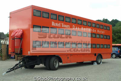 rolling hotel trailer sleeping 42 compartments camping caravanning leisure uk stirlingshire scotland scottish scotch scots escocia schottland great britain united kingdom british