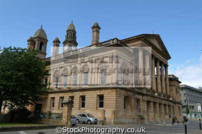 paisley town hall uk halls government buildings british architecture architectural renfrewshire scotland scottish scotch scots escocia schottland great britain united kingdom