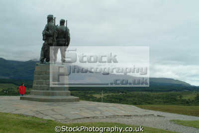 commando memorial glen spean uk statues british architecture architectural buildings highlands islands scotland scottish scotch scots escocia schottland great britain united kingdom