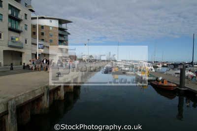 poole quay dolphin haven harbour harbor uk coastline coastal environmental dorset england english great britain united kingdom british