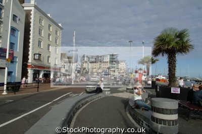 poole quay seafront uk coastline coastal environmental dorset england english great britain united kingdom british