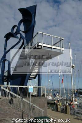poole harbour caro sculpture quay corporate art arts misc. dorset england english great britain united kingdom british