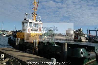 poole dredger boats marine misc. dorset england english great britain united kingdom british