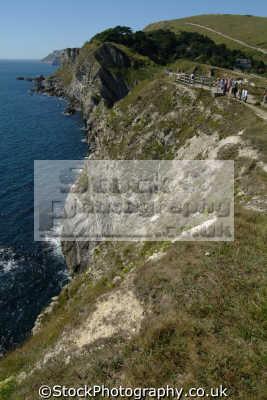 coatal path cliffs dorset uk coastline coastal environmental england english great britain united kingdom british