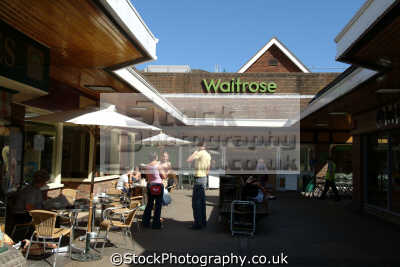 waitrose retailers brands branding uk business commerce dorchester dorset england english great britain united kingdom british