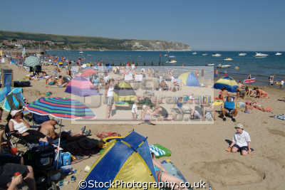 swanage beach british beaches coastal coastline shoreline uk environmental purbeck dorset england english great britain united kingdom