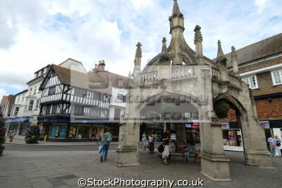salisbury poultry cross uk towns environmental wiltshire wilts england english great britain united kingdom british