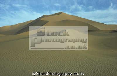 sand dune sahara desert south salah grand erg occidental. central algeria africa african travel algerian