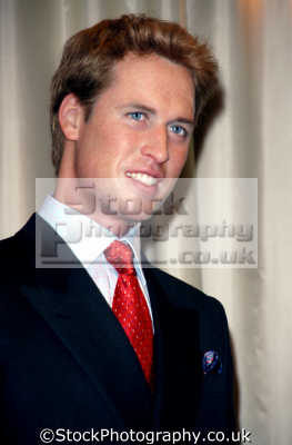 prince william waxwork royalty aristocracy celebrities celebrity fame famous star people persons costumes united kingdom british