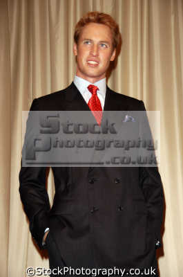 prince william waxwork model madame tussauds royalty aristocracy celebrities celebrity fame famous star people persons costumes united kingdom british