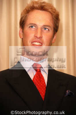 prince william waxwork madame tussauds london royalty aristocracy celebrities celebrity fame famous star people persons costumes united kingdom british