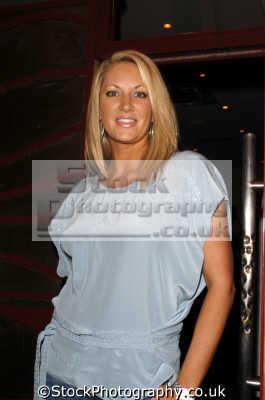 sarah bosnich tv celebrity celebrities fame famous star people persons blonde white caucasian portraits united kingdom british