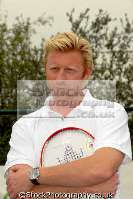 boris becker wimbledon tennis champion tv commentator players sport sporting celebrities celebrity fame famous star people persons professional player german grand slam olympic white caucasian portraits united kingdom british