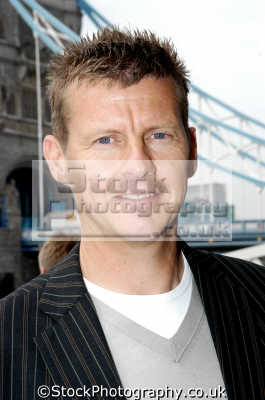 steve cram middle distance runner tv pundit. british athletes athletics sport sporting celebrities celebrity fame famous star people persons white caucasian portraits united kingdom