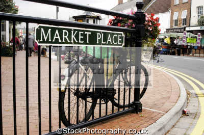 bicycle market place long sutton spalding lincs. bicycles cycling cyclists bikes transport transportation uk lincolnshire lincs england english great britain united kingdom british