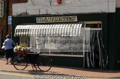 butchers shop high street long sutton spalding lincs england. midlands england english uk lincolnshire great britain united kingdom british