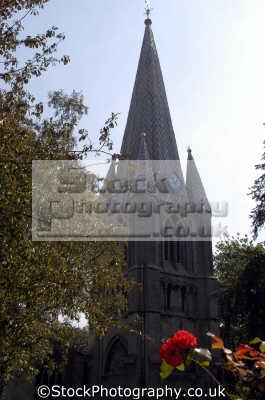 church steeple long sutton spalding lincs england. midlands england english uk lincolnshire great britain united kingdom british