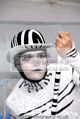 mime artist street performers buskers arts misc. performer bowler hat white caucasian portraits united kingdom british