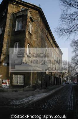 old jewish quarter krakow polish european travel ghetto poland polska europe