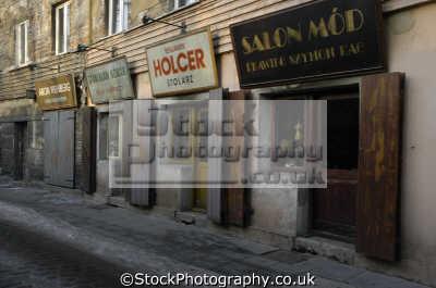 old jewish quarter krakow poland polish european travel ghetto polska europe
