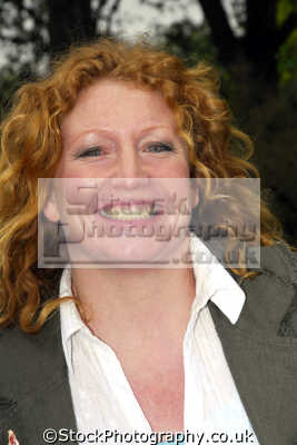 charlie dimmock british tv personality ground force gardening programme presenters television celebrities celebrity fame famous star people persons big tits boobies gardener portraits united kingdom