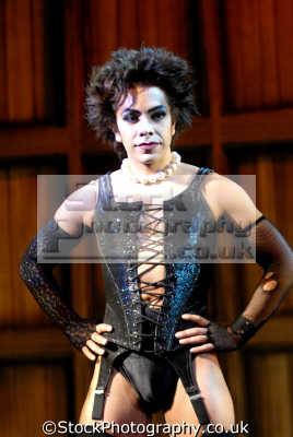 david bedella rocky horror picture actors male thespian celebrities celebrity fame famous star people persons transvestite corset portraits united kingdom british