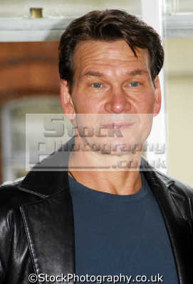 patrick swayze hollywood actor actors male thespian celebrities celebrity fame famous star people persons portraits united kingdom british