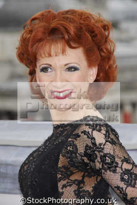 bonnie langford british actress dancer actresses female thespian celebrities celebrity fame famous star people persons ginger redhead portraits united kingdom