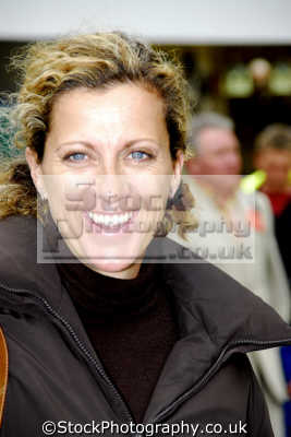 sally gunnell british olympic athlete tv sports presenter. athletes athletics sport sporting celebrities celebrity fame famous star people persons portraits united kingdom