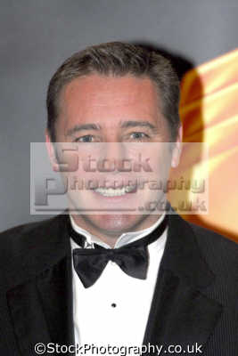 ally mccoist tv sports pundit glasgow rangers striker footballers players soccer football sport sporting celebrities celebrity fame famous star people persons bow tie portraits united kingdom british
