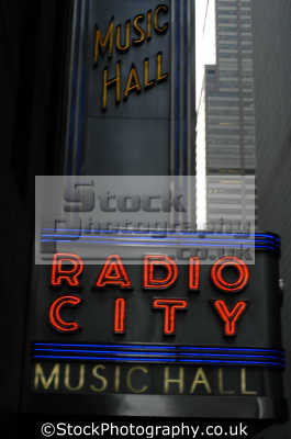 radio city music hall times square new york american yankee travel big apple usa united states america