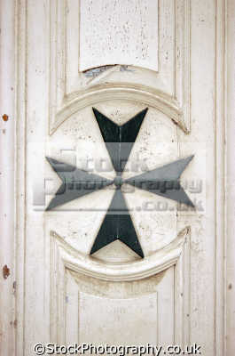 typical maltese cross stonework european travel malta europe