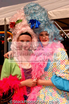 queens costumes costumed people persons united kingdom british