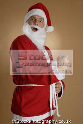 santa defiant karate chop claus saint nicholas father christmas xmas yuletide misc.