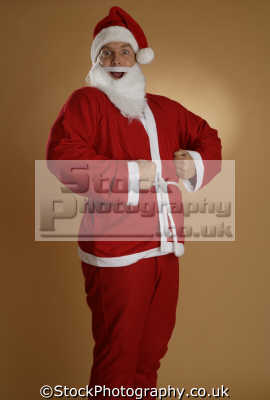 silly santa claus saint nicholas father christmas xmas yuletide misc.